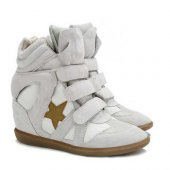 Кеды на танкетке  Sneakers Beige Star, Isabel Marant вид:1