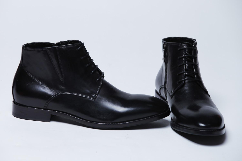 Купить черные мужские туфли в интернет магазине