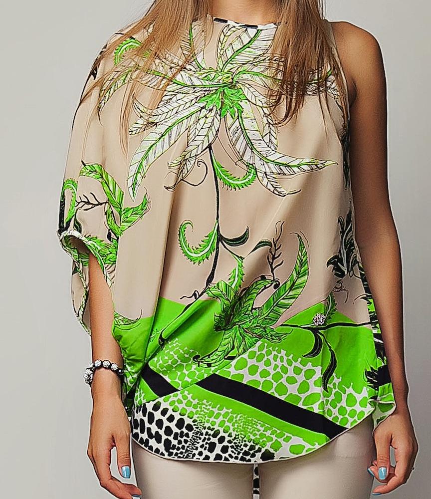 Асимметричные Блузки Купить