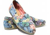 Эспадрильи Faded Tropical Women`s Classics, Toms вид:1