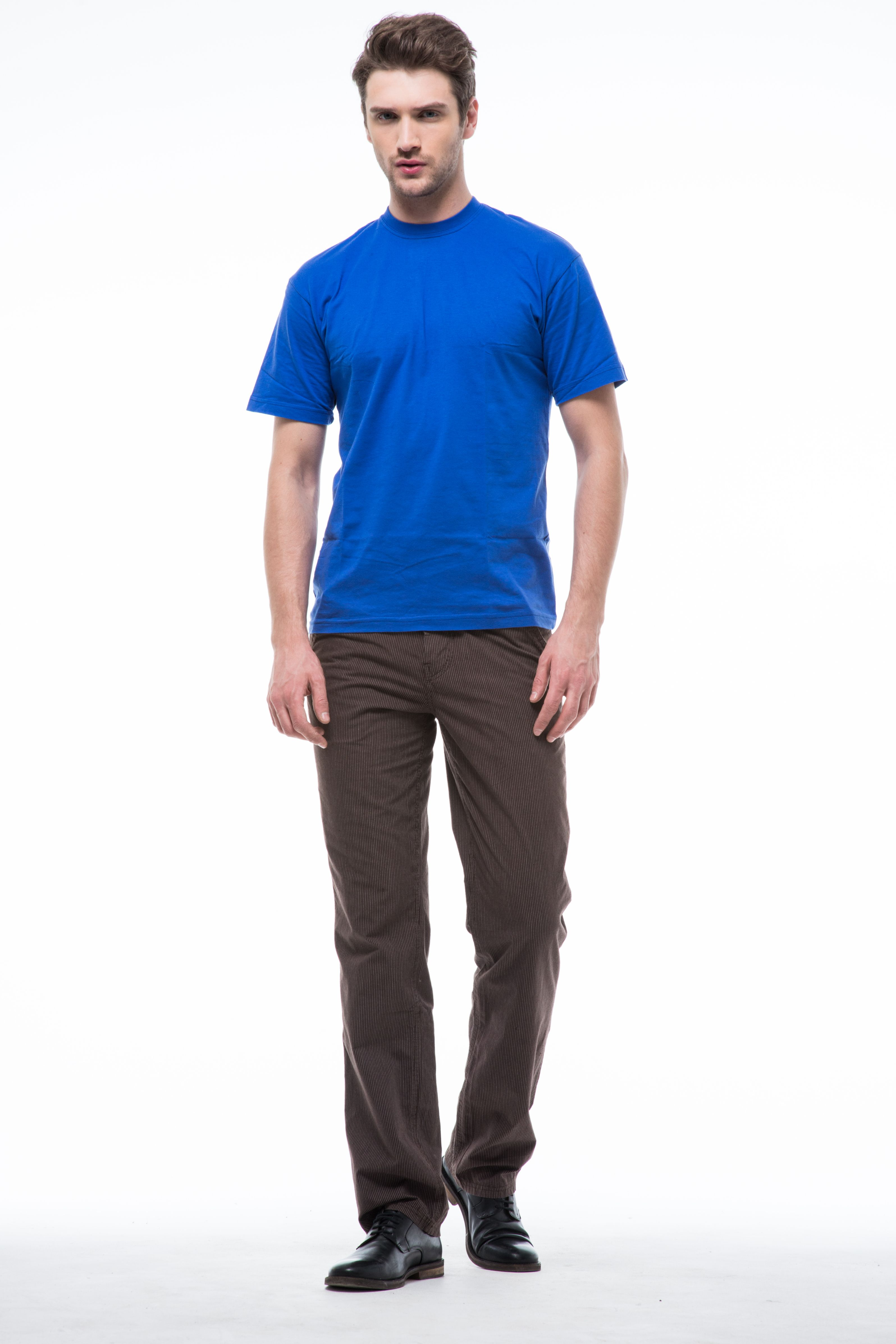 Коричневые мужские брюки доставка