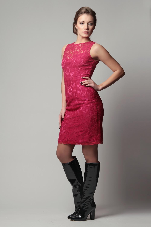 Платье Из Гипюра Корейское