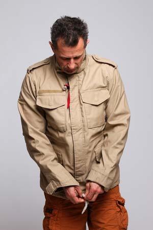 Nowa kolekcja najlepszy popularne sklepy Куртка Alpha с функциональным кроем M65 VF 59 LW Khaki Alpha ...