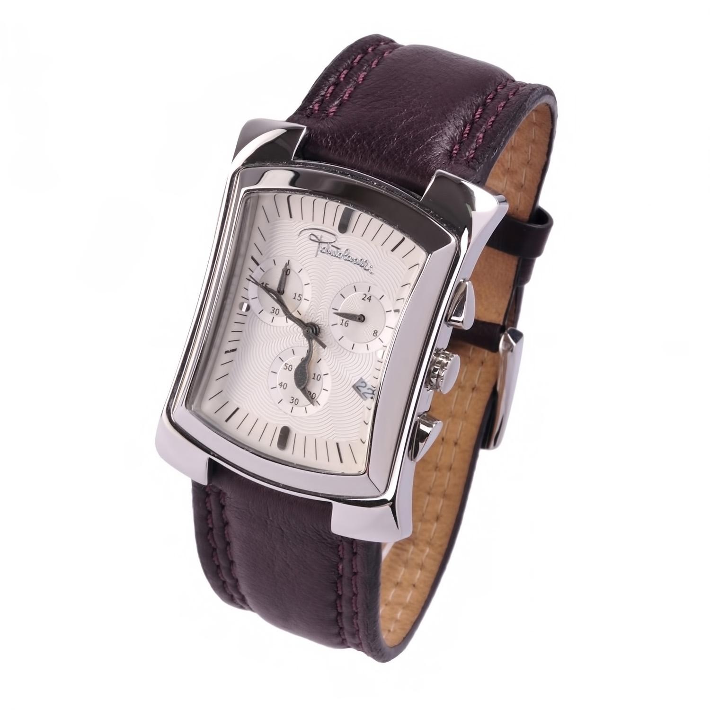 Наручные часы - Часы мужские коричневые на кожаном ремешке Roberto Cavalli Часы мужские коричневые на