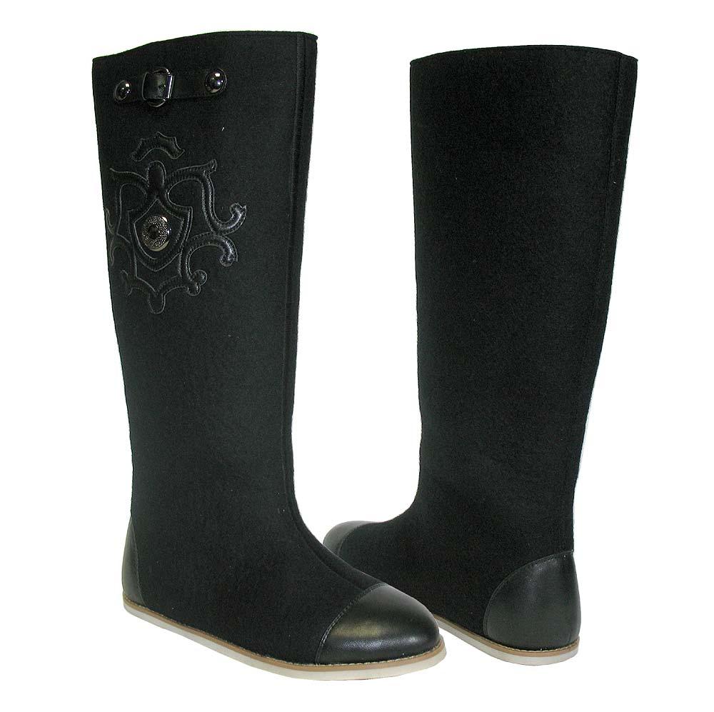 b6045c4f347f Валенки черные высокие Osmonds Love в Интернет-магазине Оденься.ру ...