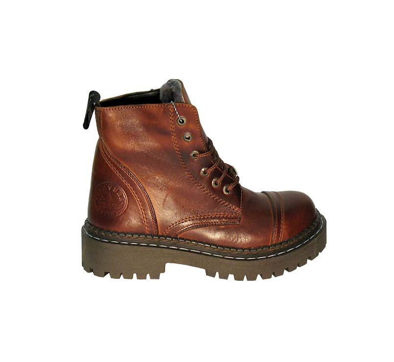 Купить теплые мужские зимние ботинки с мехом европейского