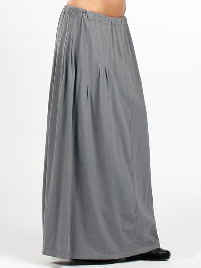 Длинная юбка трикотаж