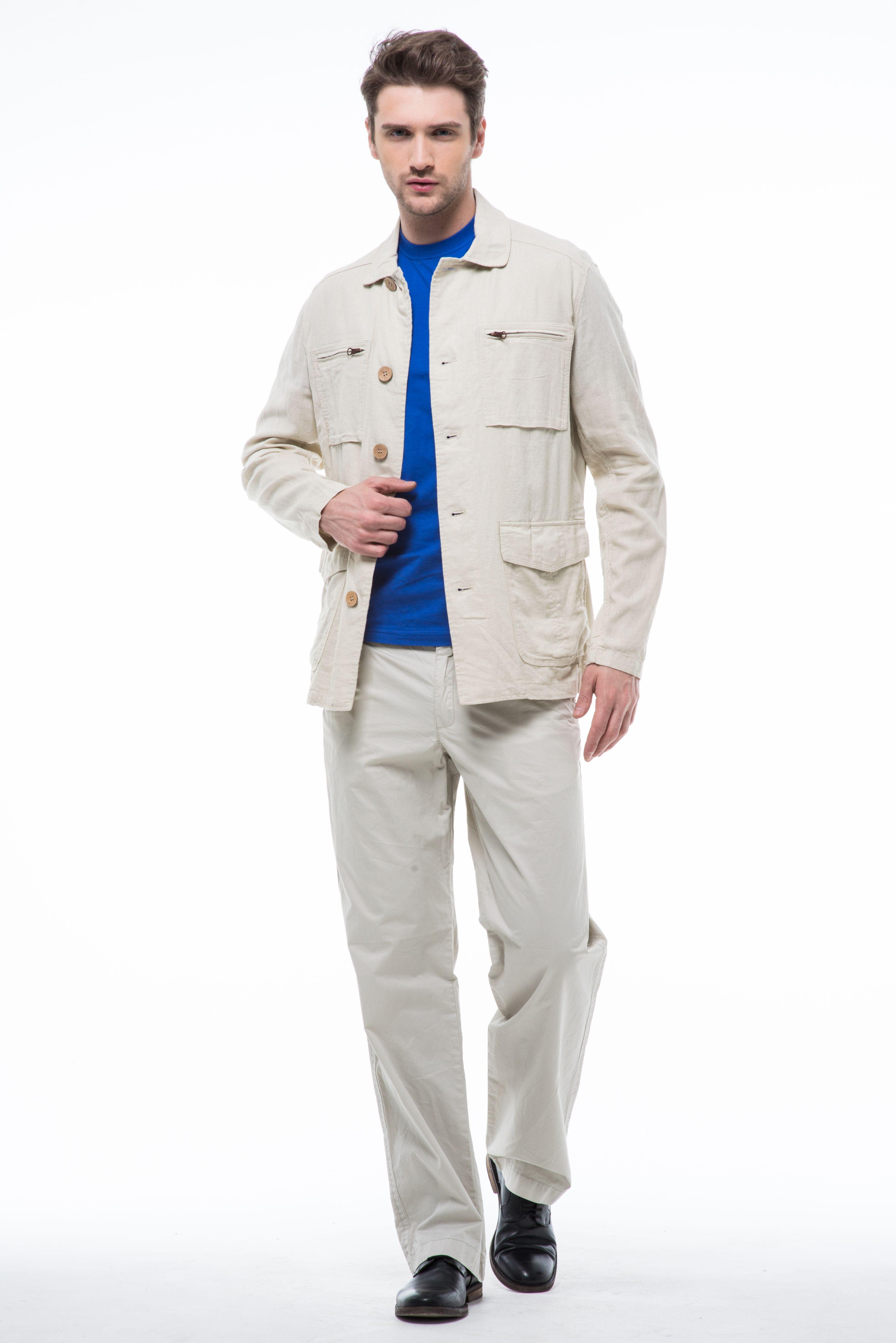 Мужские светлые брюки с доставкой