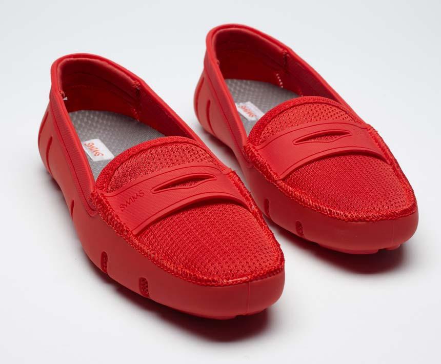 Мокасины женские Loafer красные Swims в Интернет-магазине Оденься.ру ... a2036886e76f5