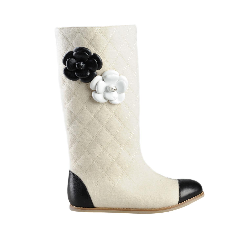 c830b667a4d2 Валенки белые под Шанель Osmonds Love в Интернет-магазине Оденься.ру ...