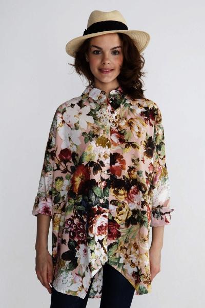 Блузки С Цветочным Принтом В Новосибирске