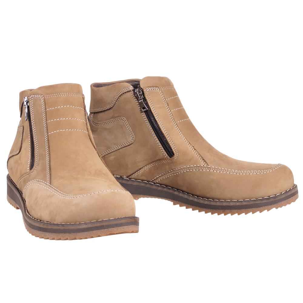 67da7fab Ботинки зимние мужские светло-коричневые Star Club в Интернет ...
