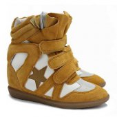 Кеды на танкетке  Sneakers Yellow Star, Isabel Marant вид:1