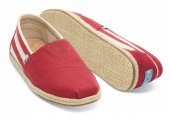 Купить Эспадрильи University Stripe Red Classics Toms